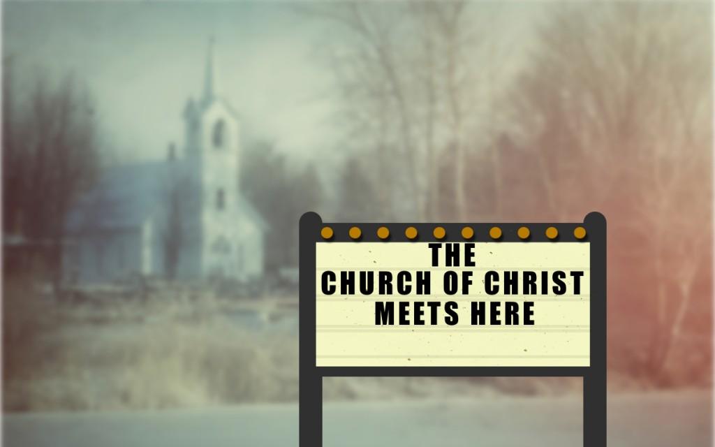 Church Meets Here