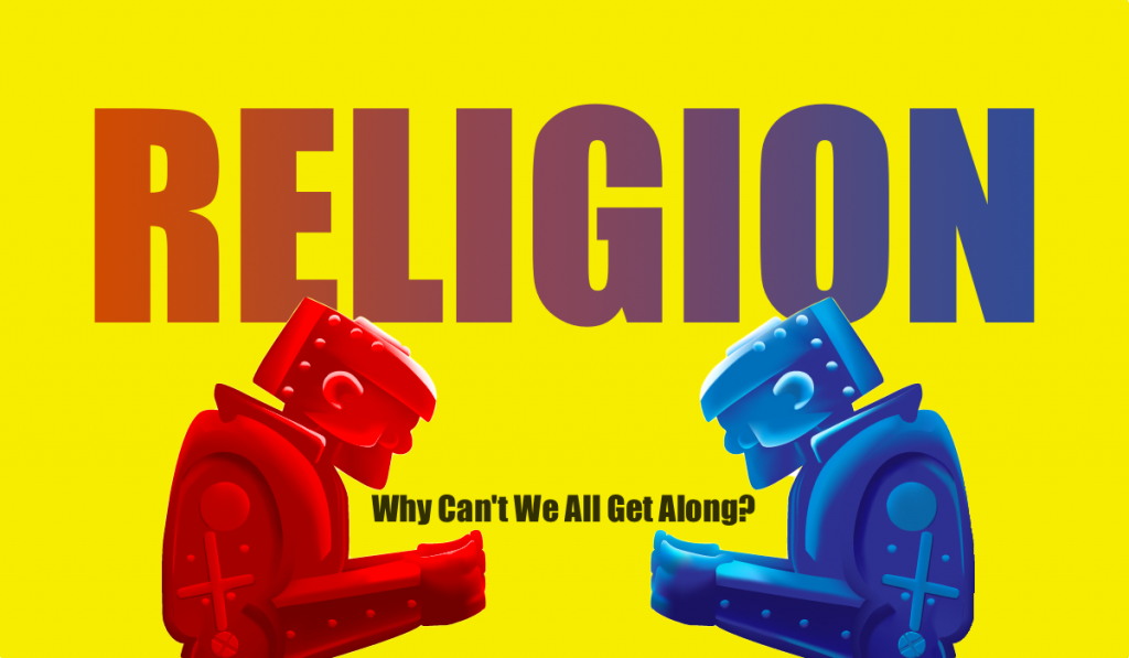 Why can't religious people get along?