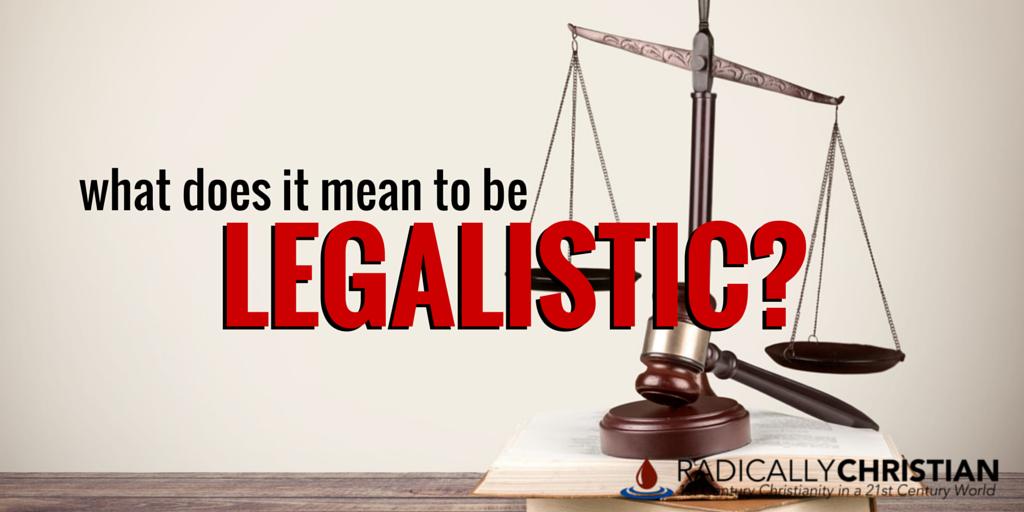 legalistic period