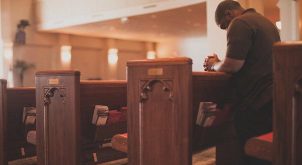 praying church building