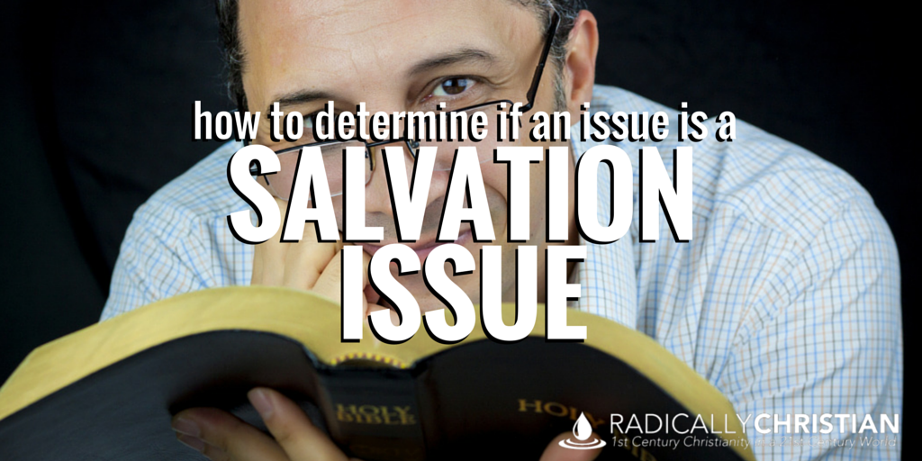 salvation issues