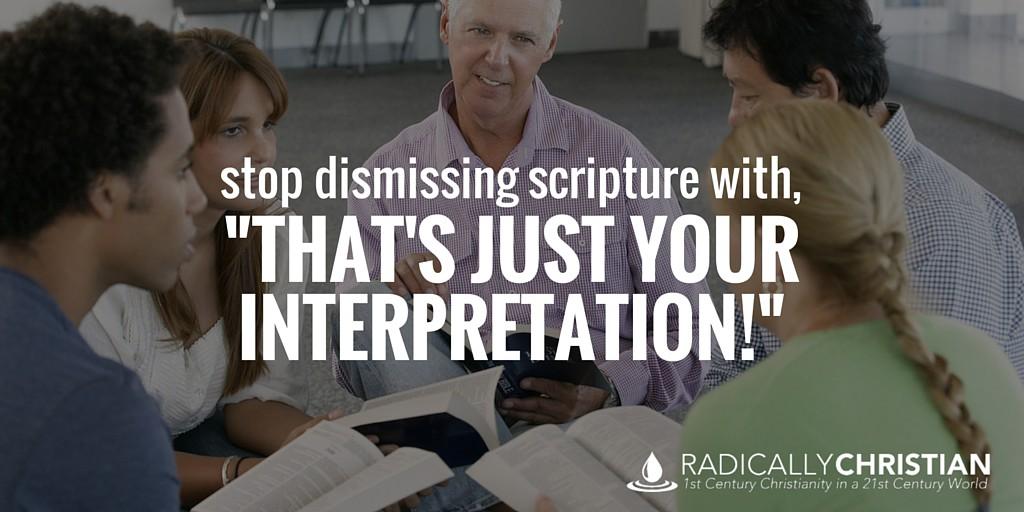 your interpretation