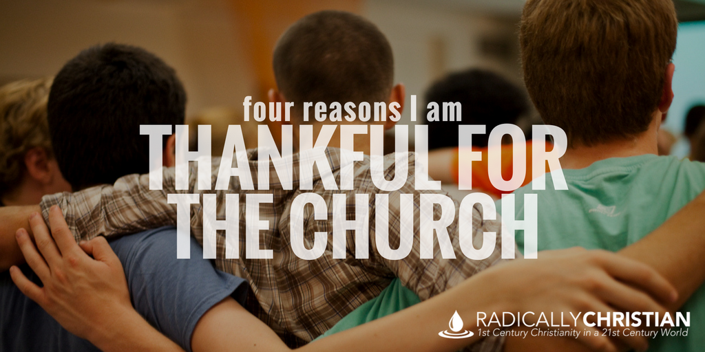 thankful for the church